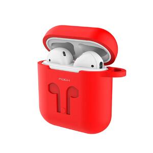 Купить Силиконовый чехол ROCK Carrying Case Red для Apple AirPods