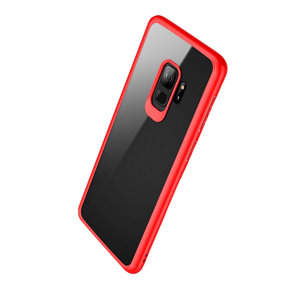 Купить Чехол Rock Clarity Series Red для Samsung Galaxy S9