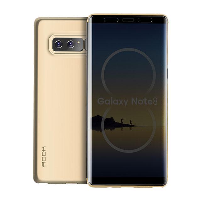Купить Чехол-книжка ROCK Dr.V Series Gold для Samsung Galaxy Note 8
