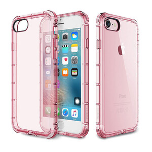 Купить Чехол Rock Fence Series Transparent/Rose для iPhone 7