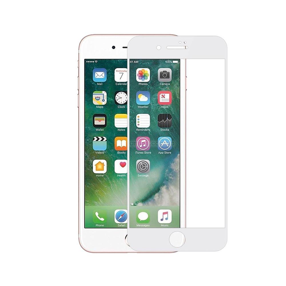 Купить Защитное стекло Rock Full Screen Tempered Glass Matte (2.5D) White для iPhone 7 | 8 | SE 2020