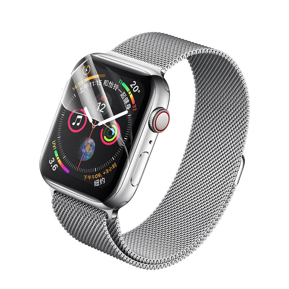 Купить Защитная гидрогелевая пленка Rock Hydrogel Screen Protector для Apple Watch 40mm SE | 6 | 5 | 4 (2 шт)