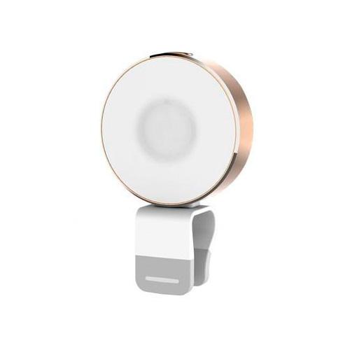 Вспышка ROCK OMI 10-LED's Gold для телефонов
