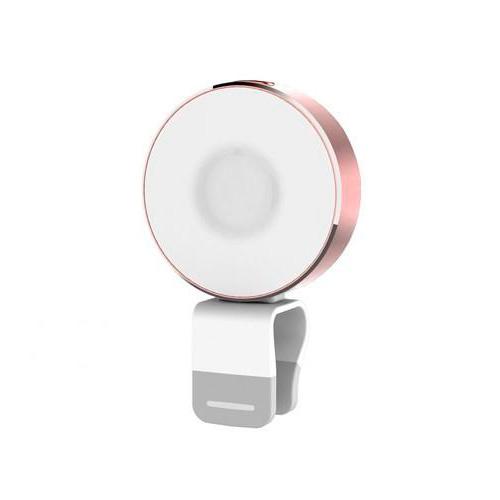 Вспышка ROCK OMI 10-LED's Rose Gold для телефонов