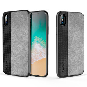 Купить TPU+PC чехол ROCK Origin Pro Series Black для iPhone X