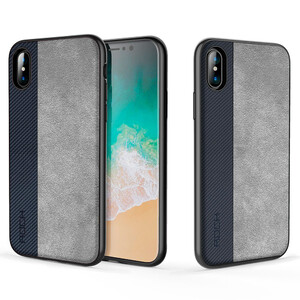 Купить TPU+PC чехол ROCK Origin Pro Series Blue для iPhone X/XS