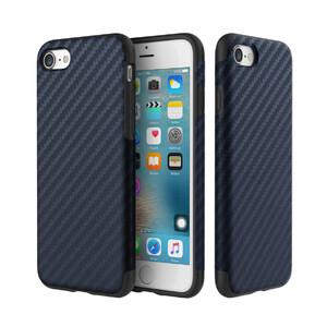 Купить Карбоновый чехол ROCK Origin Series (Textured) Blue для iPhone 7/8