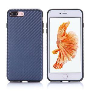 Купить Карбоновый чехол ROCK Origin Series (Textured) Blue для iPhone 7 Plus