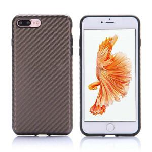 Купить Карбоновый чехол ROCK Origin Series (Textured) Brown для iPhone 7 Plus