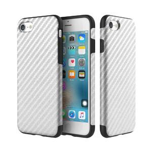 Купить Карбоновый чехол ROCK Origin Series (Textured) Silver для iPhone 7