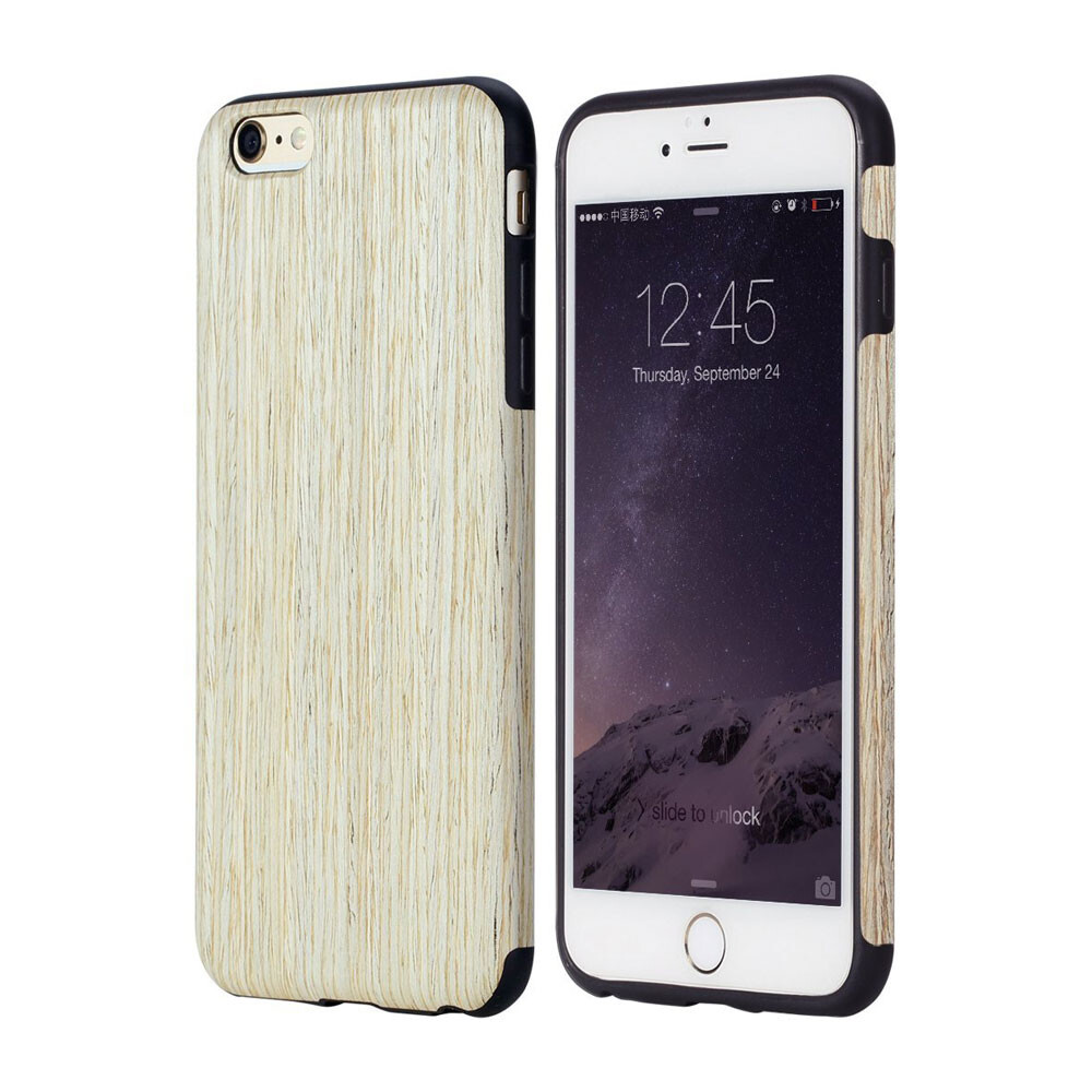 Чехол ROCK Origin Series Nordic Walnut для iPhone 6/6s Plus