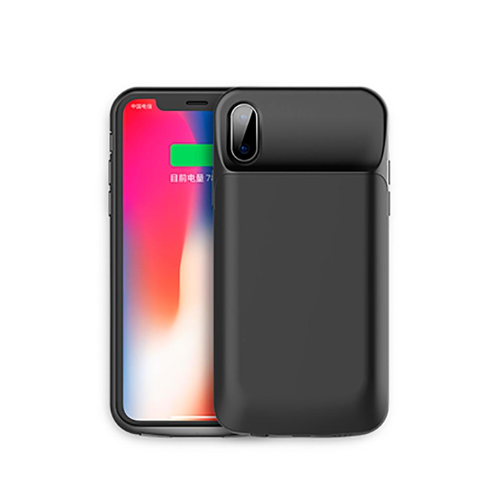 Чехол-аккумулятор ROCK P41 Power Case 6000mAh Black для iPhone X