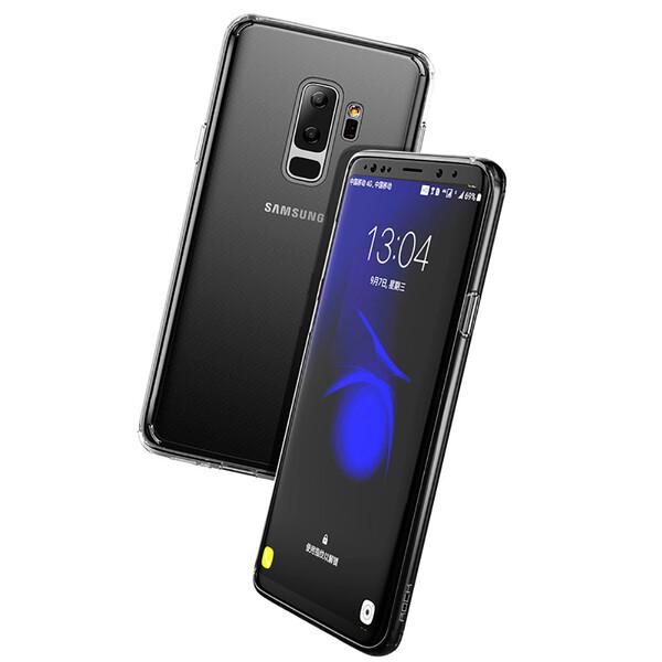 Защитный чехол ROCK Pure Series Transparent Black для Samsung Galaxy S9 Plus