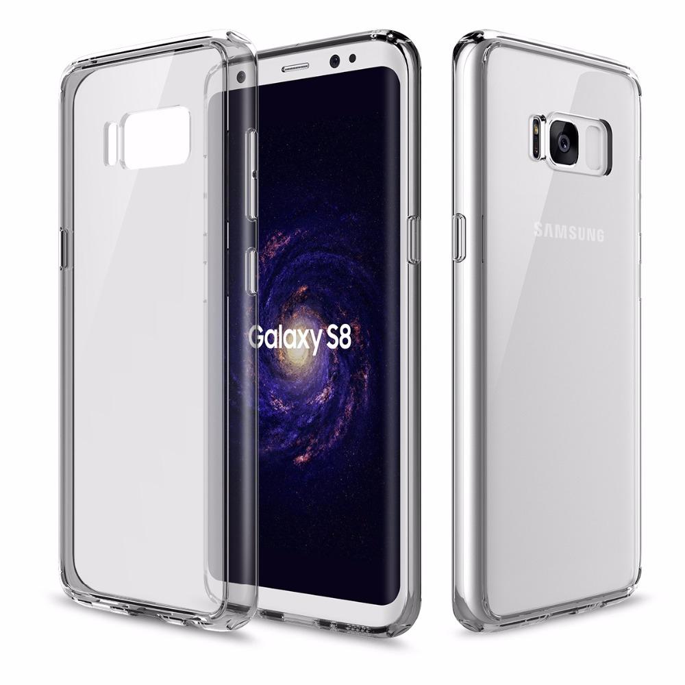 Купить Пластиковый чехол ROCK Pure Series Transparent Grey для Samsung Galaxy S8 Plus