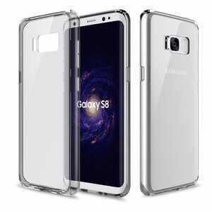 Купить Пластиковый чехол ROCK Pure Series Transparent Grey для Samsung Galaxy S8 Plus