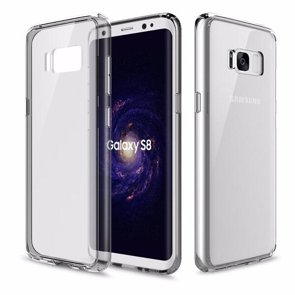 Пластиковый чехол ROCK Pure Series Transparent Grey для Samsung Galaxy S8 Plus