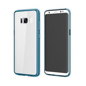 Купить Пластиковый чехол ROCK Pure Series Transparent Blue для Samsung Galaxy S8