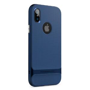 Купить Чехол-накладка ROCK Royce Series Blue для iPhone X/XS