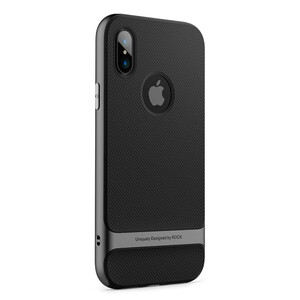 Купить Чехол ROCK Royce Series Grey для iPhone X
