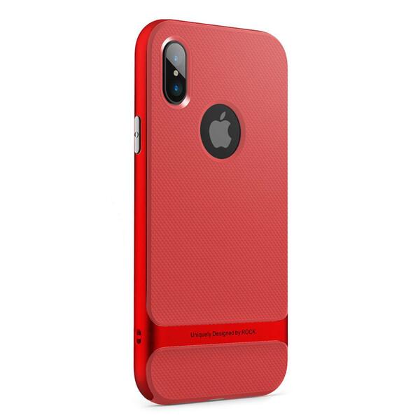 Чехол-накладка ROCK Royce Series Red для iPhone X   XS