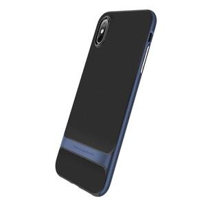 Купить Чехол-накладка ROCK Royce Series Blue для iPhone XS Max