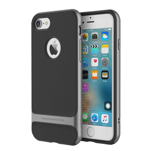 Чехол ROCK Royce Series Grey для iPhone 7