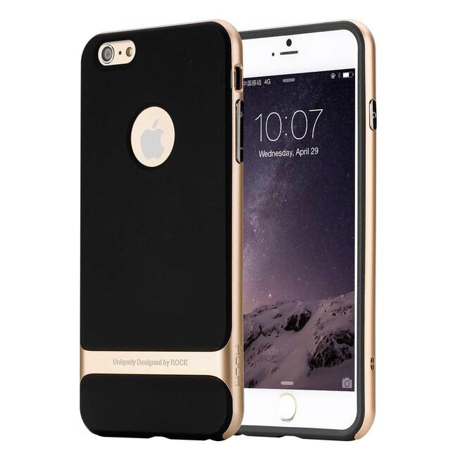 Чехол ROCK Royce Series Gold для iPhone 6/6s Plus