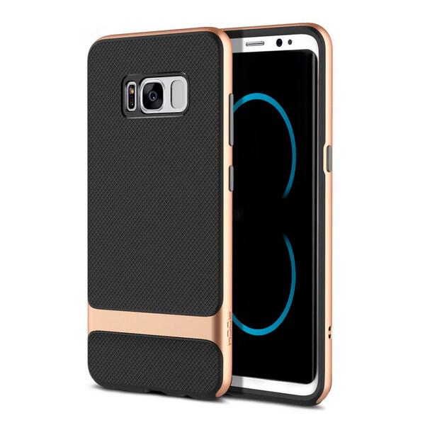 Чехол-накладка ROCK Royce Series Gold для Samsung Galaxy S8 Plus