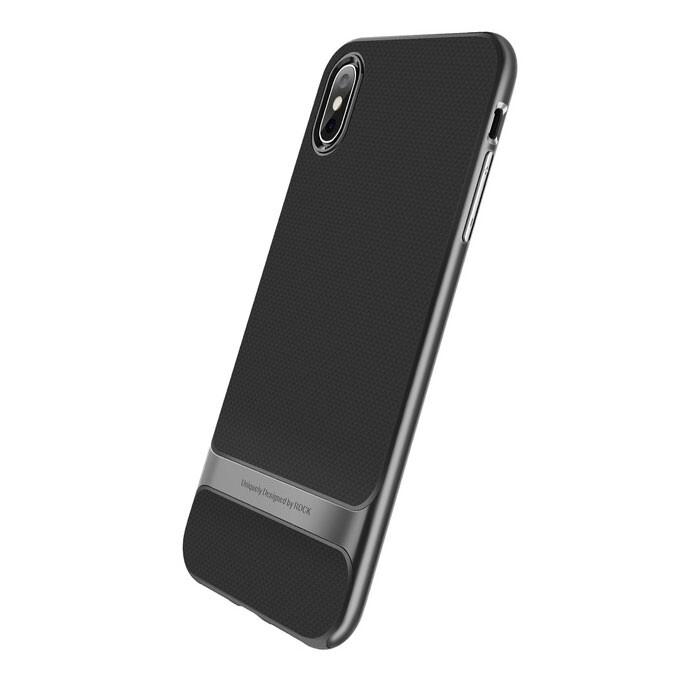 Чехол-накладка ROCK Royce Series Gray для iPhone XS Max