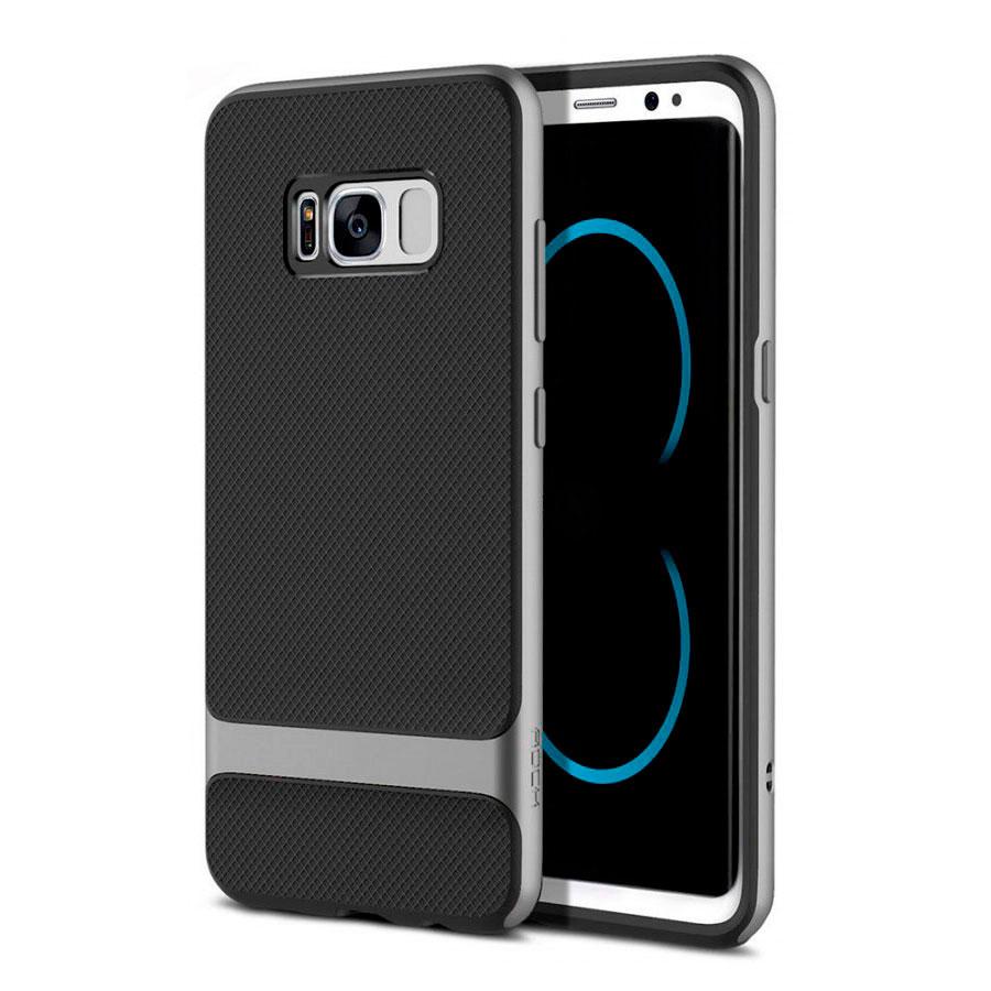 Купить Чехол-накладка ROCK Royce Series Gray для Samsung Galaxy S8 Plus