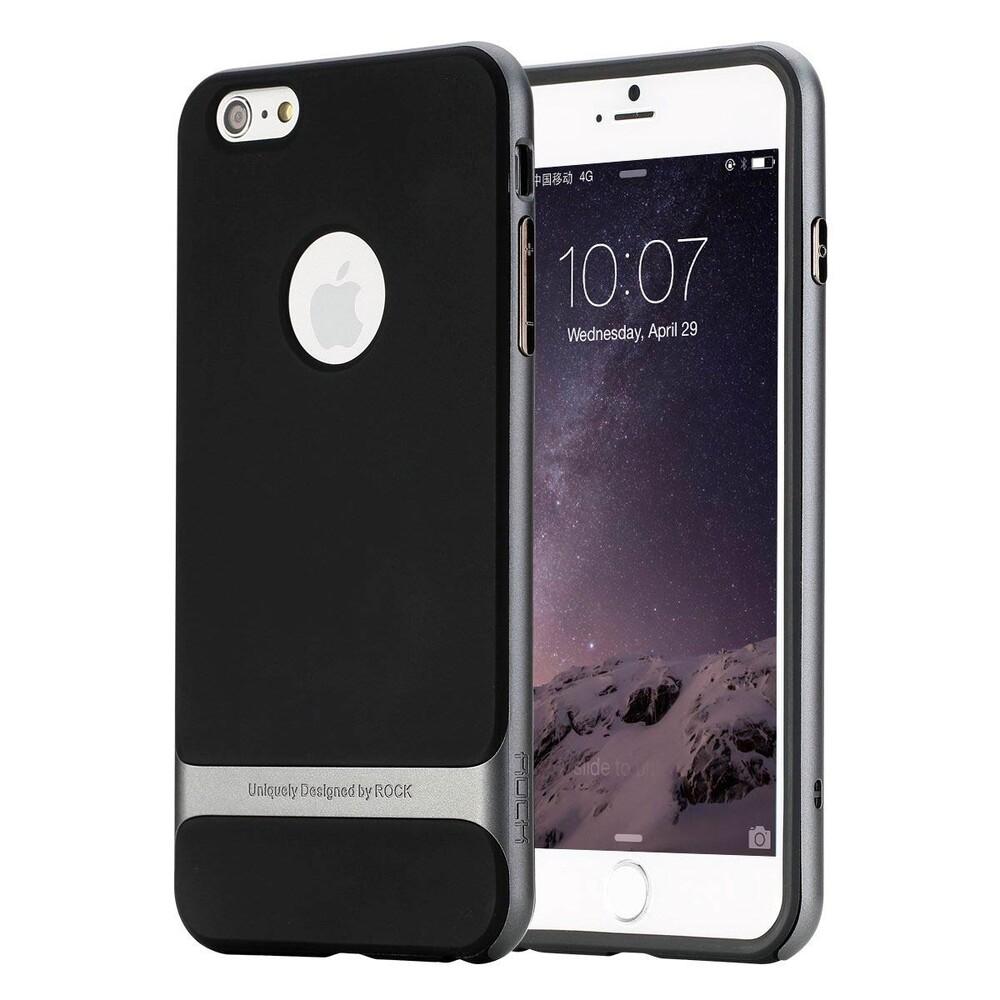Чехол ROCK Royce Series Grey для iPhone 6/6s