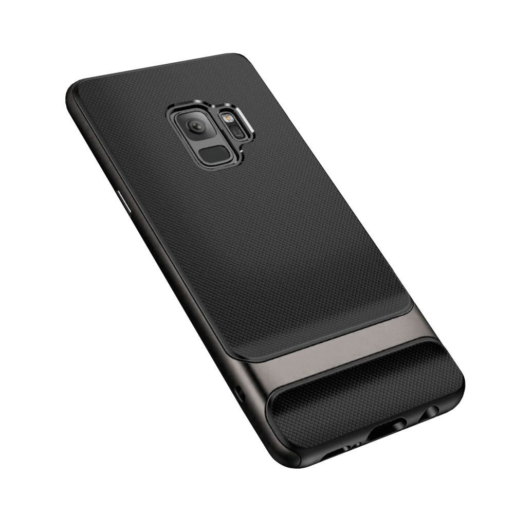 Купить Чехол-накладка ROCK Royce Series Iron Gray для Samsung Galaxy S9