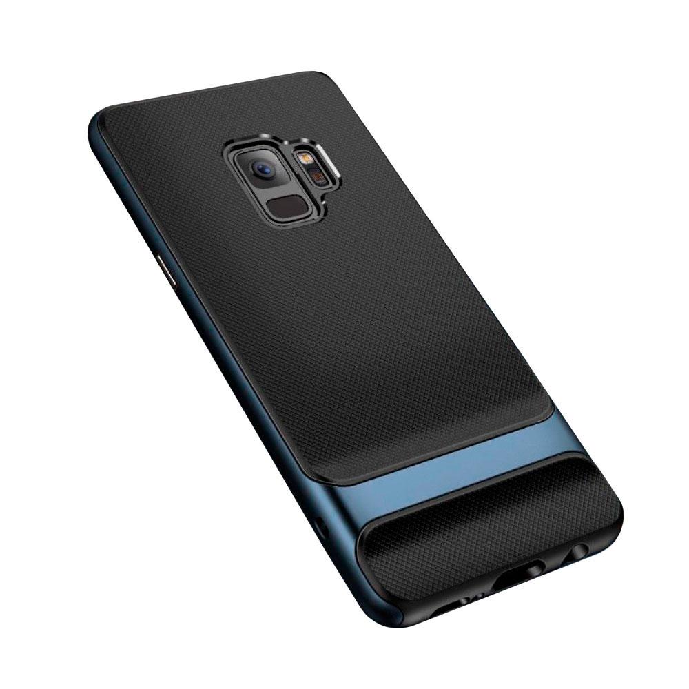 Купить Чехол-накладка ROCK Royce Series Navy для Samsung Galaxy S9