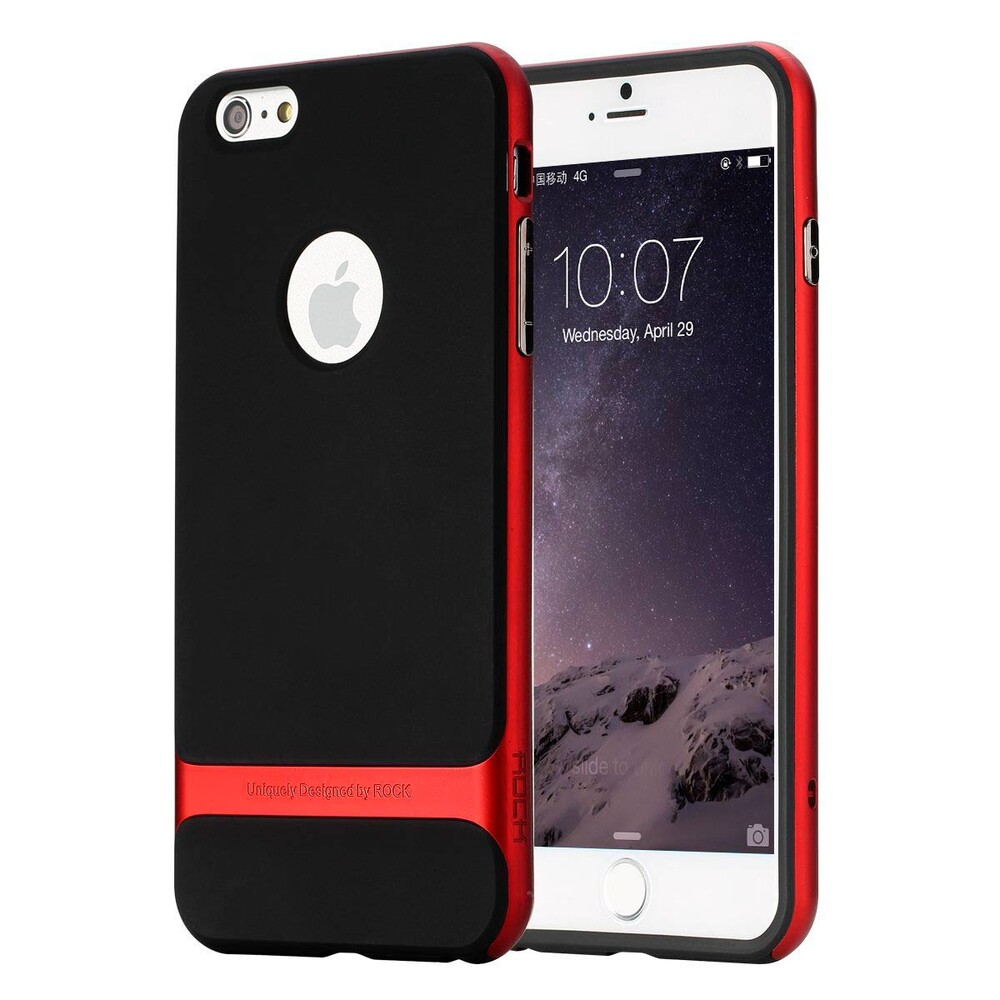 Чехол ROCK Royce Series Red для iPhone 6/6s Plus