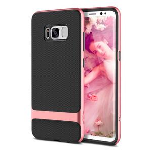 Купить Чехол-накладка ROCK Royce Series Rose Gold/Black для Samsung Galaxy S8