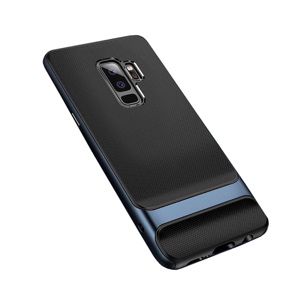 Купить Защитный чехол ROCK Royce Series Navy Blue для Samsung Galaxy S9 Plus