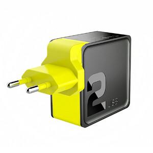 Купить Быстрое зарядное устройство ROCK Sugar PD Travel Charger (2-Port)