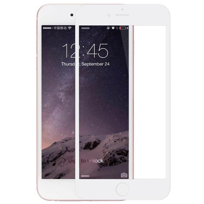 Защитное стекло ROCK Tempered Full Glass White для iPhone 6/6s Plus