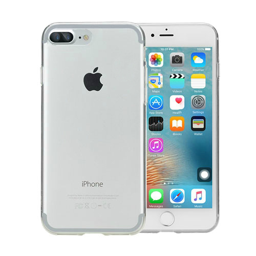Чехол ROCK Ultrathin TPU Slim Jacket Transparent для iPhone 7 Plus