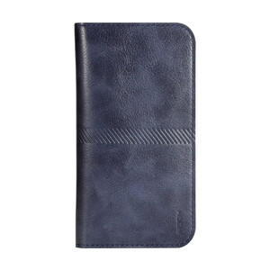Купить Чехол ROCK Universal Wallet Case Dark Blue для iPhone 6/6s/7