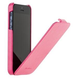 Купить Кожаный чехол HOCO Fashion Royal Series Pink для iPhone 5/5S/SE