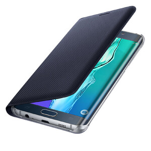Купить Чехол Samsung Wallet Flip Cover Black для Samsung Galaxy S6 Edge+ Plus