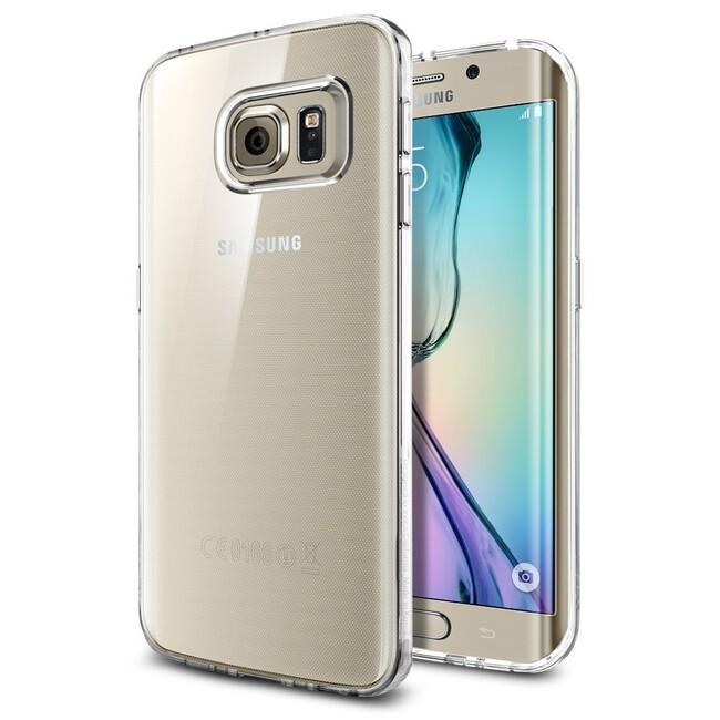 Прозрачный чехол Spigen Liquid Crystal для Samsung Galaxy S6 Edge