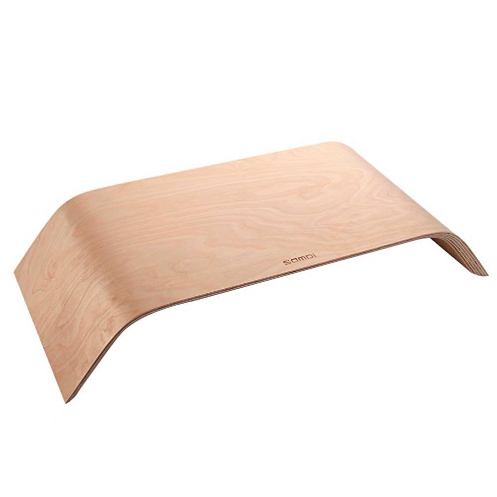 Купить Универсальная деревянная подставка SAMDI Monitor Stand White Birch для MacBook | монитора