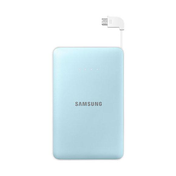 Универсальный внешний аккумулятор Samsung Battery Pack 11300mAh Light Blue