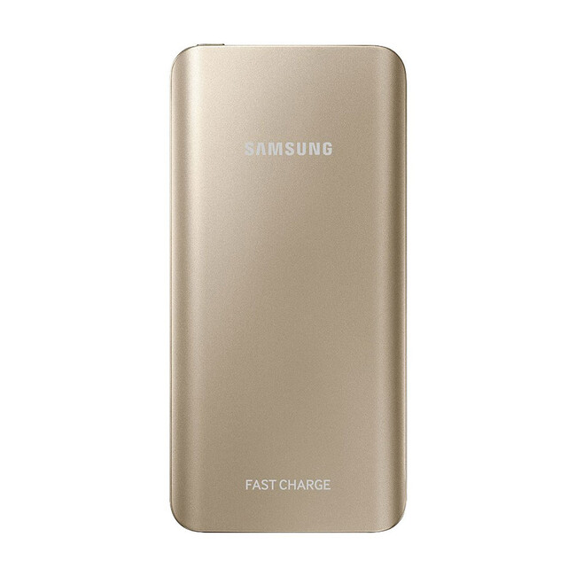Быстрый внешний аккумулятор Samsung Fast Charge Battery Pack 5200mAh Gold