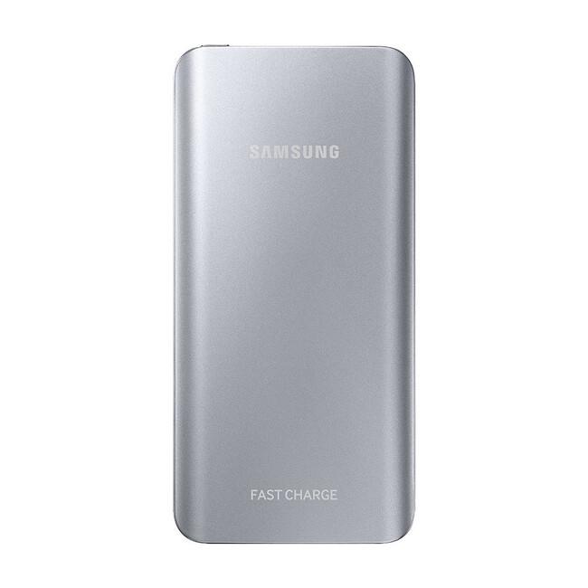 Быстрый внешний аккумулятор Samsung Fast Charge Battery Pack 5200mAh Silver