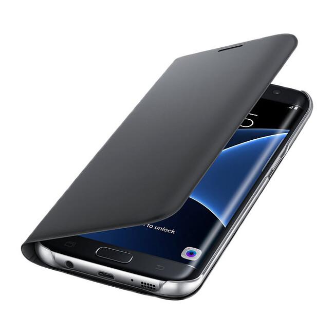 Чехол Samsung Flip Wallet Black для Samsung Galaxy S7 edge