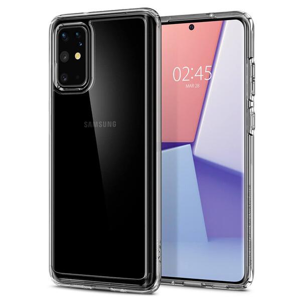 Противоударный чехол для Samsung Galaxy S20+ Spigen Crystal Hybrid