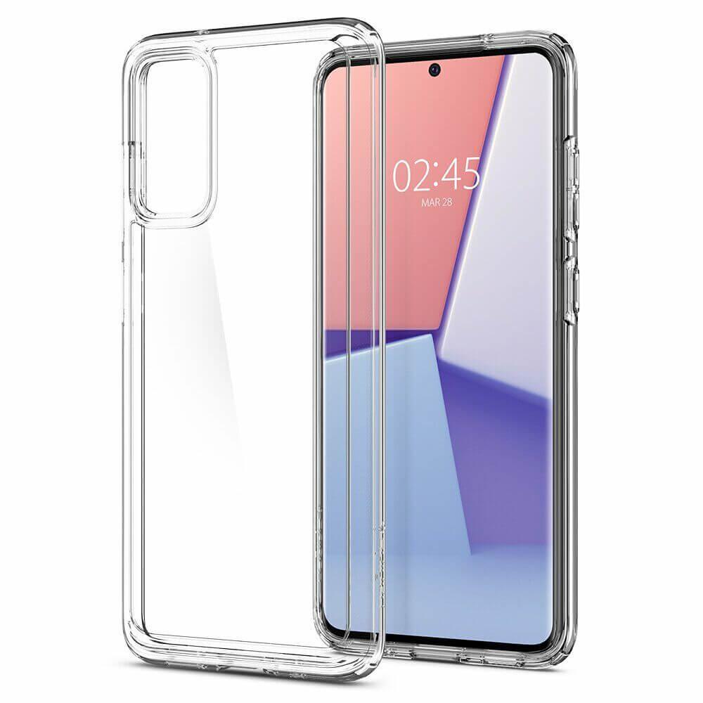 Купить Противоударный чехол для Samsung Galaxy S20 Ultra Spigen Crystal Hybrid